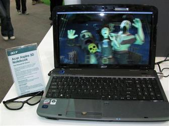 ACER 3d notebook image