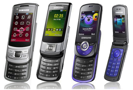telephone samsung nouveaux mod les s6700 c5510 m2510 m2310. Black Bedroom Furniture Sets. Home Design Ideas