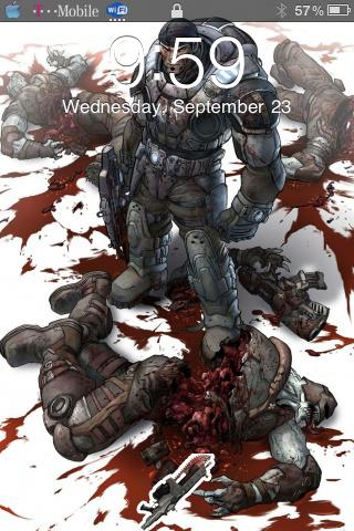 Gears of War Lockscreen 1.5