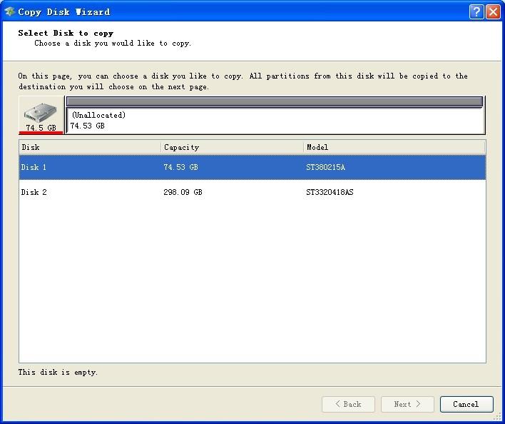 MiniTool Drive Copy  copier cloner son disque dur ou une partition