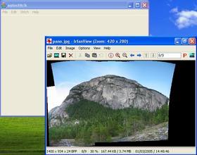 Combiner automatiquement plusieurs photos d'un panorama