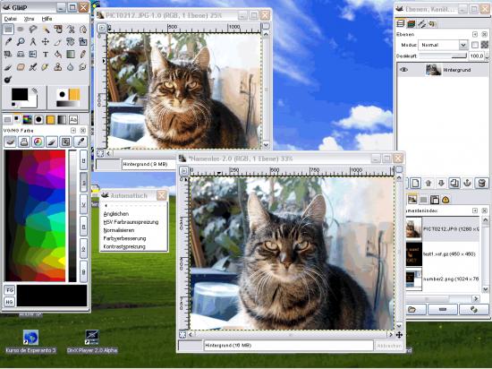 gimp image logiciel de retouche