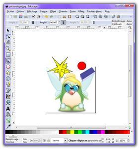 inkscape logiciel de dessin vectoriel