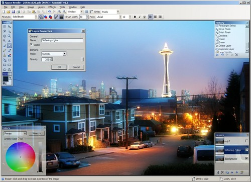 paint programme gratuit de retouche d'image