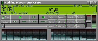 Lecteur de fichiers audios mod
