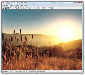 Visualisateur d'images rapide et lecteur multimédia