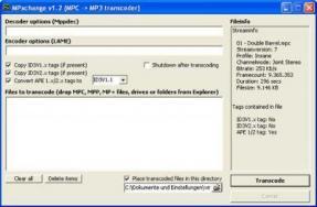 convertir un fichier mpc en mp3
