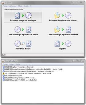 graver un fichier BIN, IMG, MDS, NRG