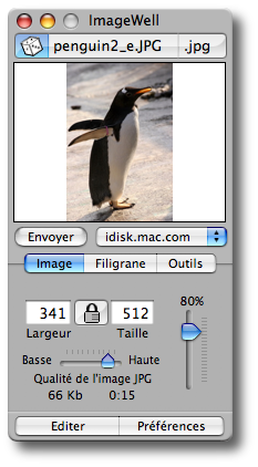 optimiser image pour le web