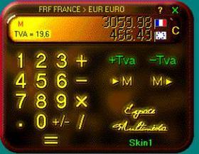programme calculette euro