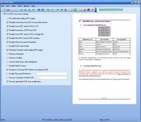 Convertir un fichier PDF en exécutable