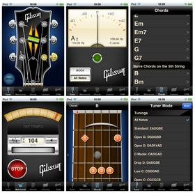 apprendre la guitare sur son iphone, ipad