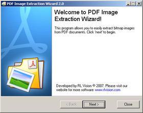 extraire image pdf