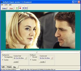 découper ou fusionner des fichiers vidéo au format AVI