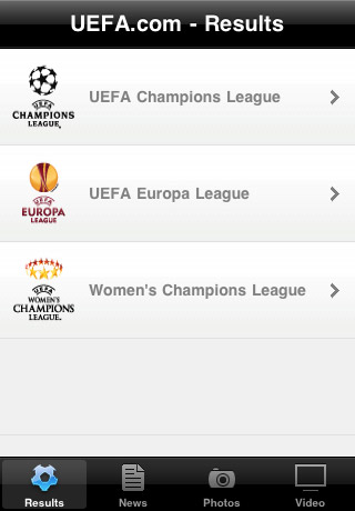 ligue des champions sur iphone