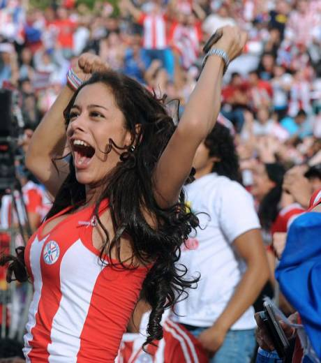supportrice paraguay