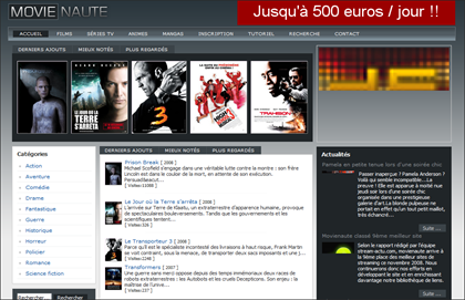 MovieNaute streaming