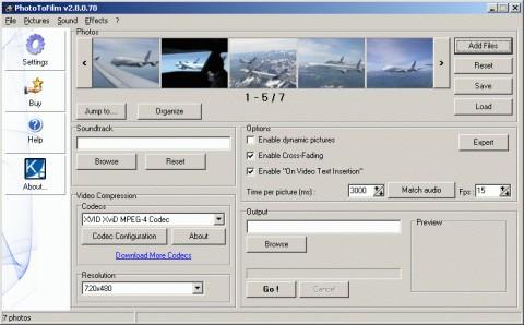 logiciel pour faire un film avec des photos