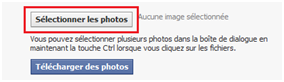 mettre un album photo sur facebook