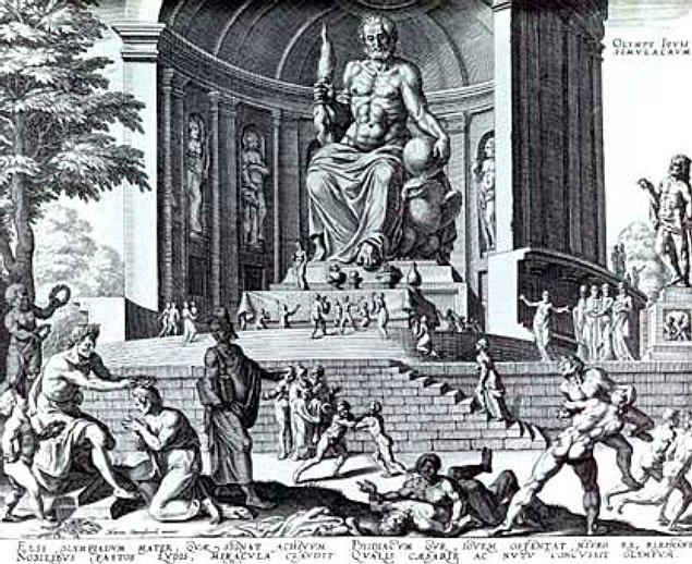 merveille-du-monde-Statue_de_Zeus