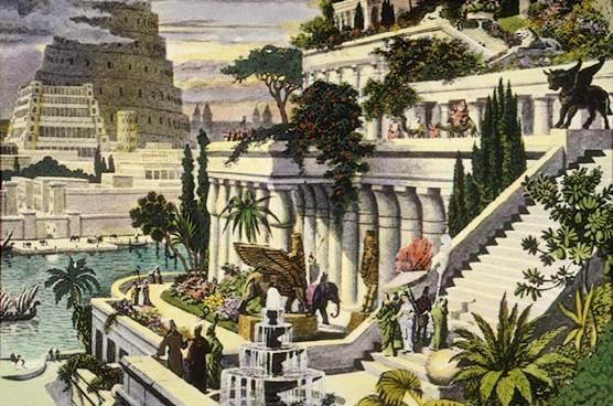 merveille-monde-jardin-suspendu-Babylon