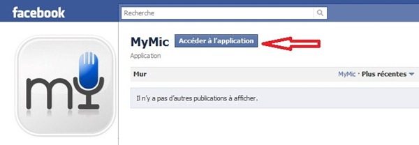 Message vocaux facebook Mymic