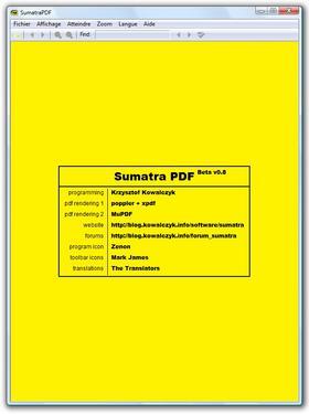 Visionneuse PDF minimaliste et légère