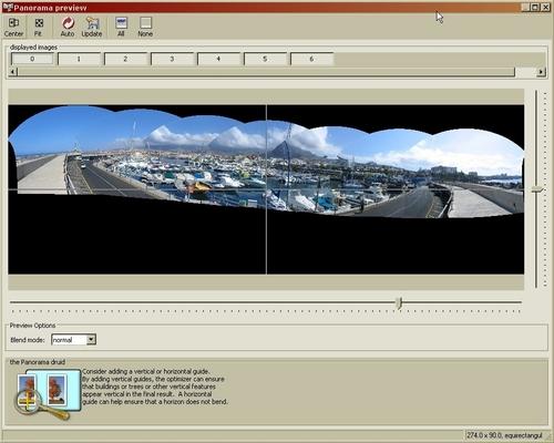 comment assembler des images en panoramique