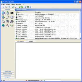 logiciel détection matériel pc