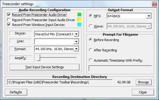 Logiciel enregistrement audio gratuit