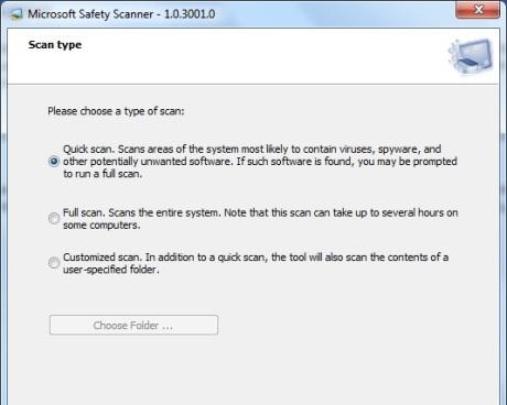 microsoft-safety-scanner  logiciel gratuit