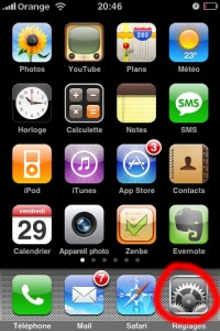 contacts sim iphone