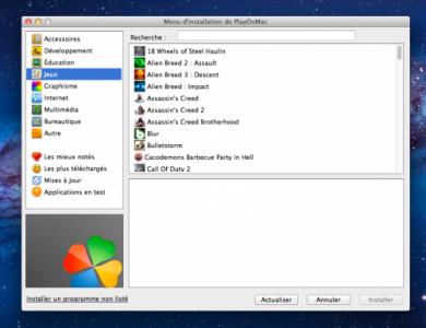 emulateur pc sur mac