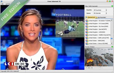 logiciel Free Internet TV