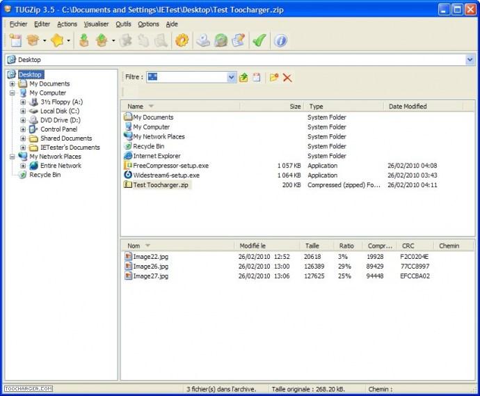 Free Compressor logiciel de compression