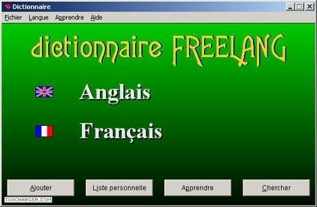 T l charger dictionnaire de fran ais gratuit logiciel - Telecharger open office gratuit windows francais ...
