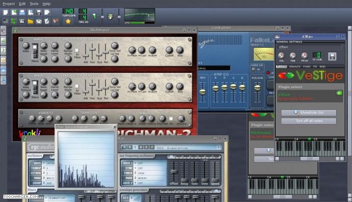 LINUX MULTIMEDIA STUDIO créer sa propre musique