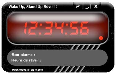 Wake Up Stand Up Réveil
