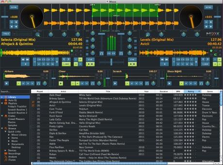 mixxx logiciel musique mixage