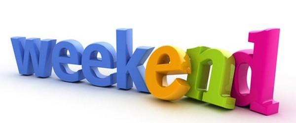 sms pour souhaiter un bon week end