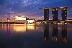 fond ecran singapour