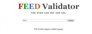 feed validator tester flux rss