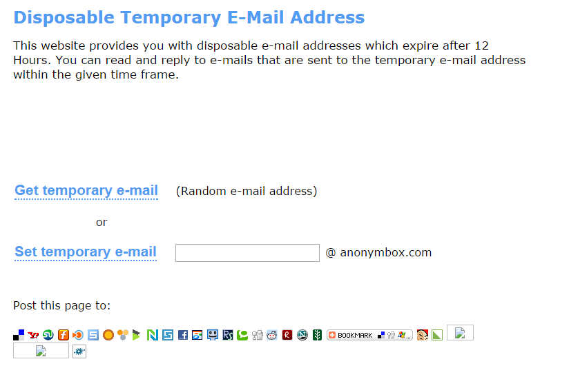 adresse jetable gmail