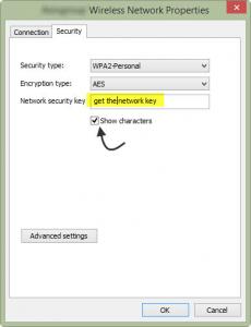 mot de passe wifi