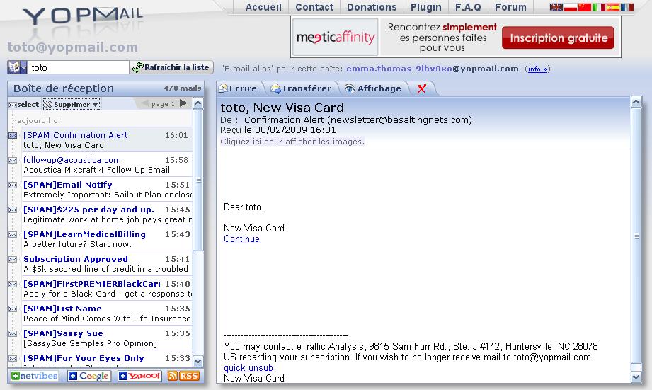 Messagerie Email Gratuite